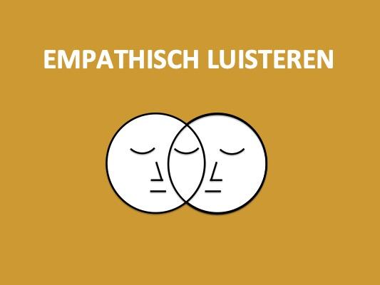 ZEVEN LUISTERNIVEAUS 4: Empathisch luisteren voor verdiept contact